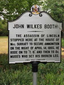 john wilkes booth escape route tour