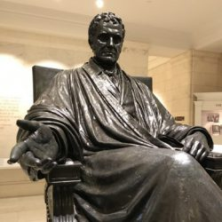 John Marshall at the Supreme Court Museum