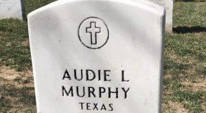 Audie Murphy Gravesite at Arlington