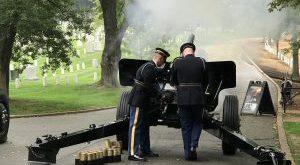 Saluting Battery at Arlington