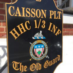 Caisson Platoon of The Old Guard