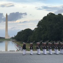 USMC Silent Drill Platoon at the National Mall
